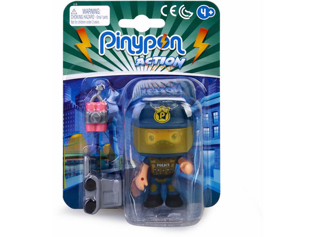 Pinypon Action Police Figurine Squad Eod Famosa 700015589