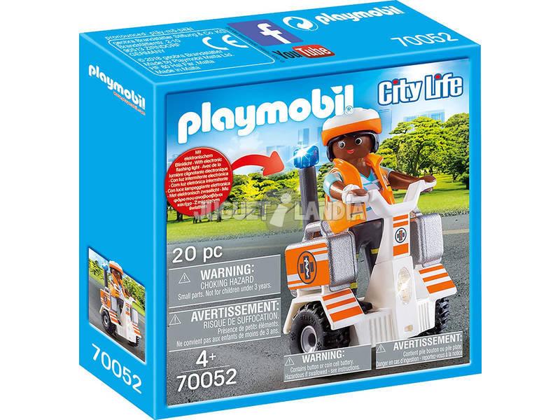 Playmobil Balance Racer de Secours 70052