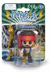 Pinypon Action Pirate mit rotem Band Famosa 700015581