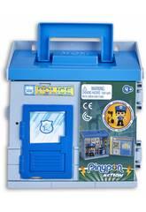 Pinypon Action Mixópolis Comisaría con Figura Policía Famosa 700015585