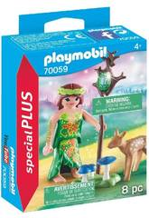 Playmobil Fee mit Kitz 70059