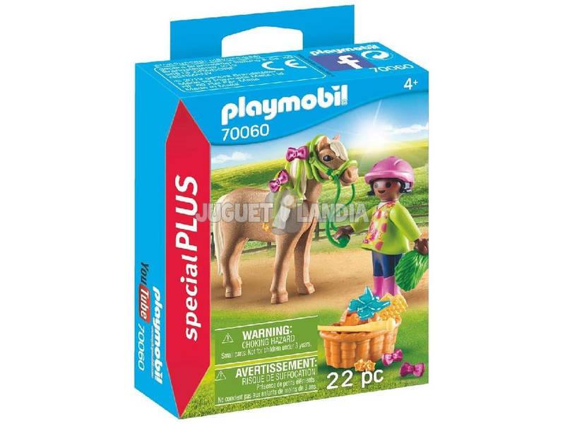 Playmobil Fille avec Poney 70060