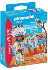 Playmobil Capo Nativo Americano 70062