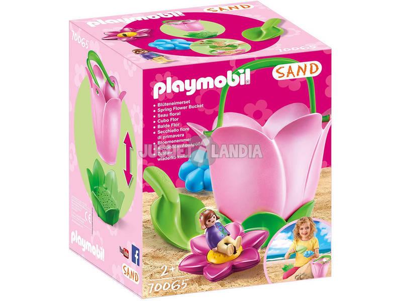 Playmobil Sand Seau Fleur 70065