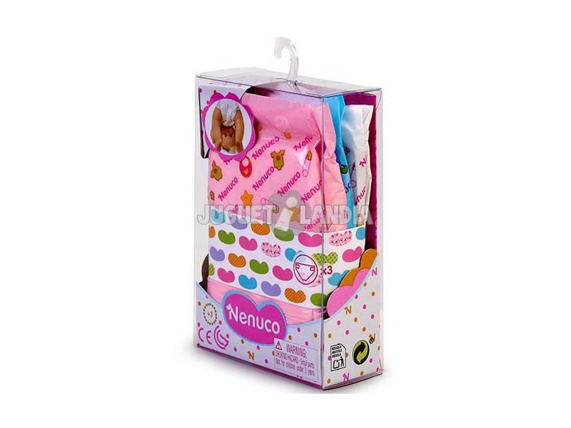Nenuco Accesorio Básico Pack 3 Pañales Famosa 700015619