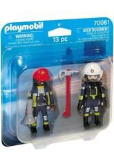 Playmobil Duopack Bombeiros 70081