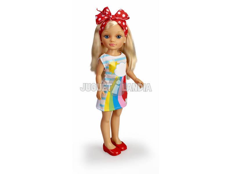 Nancy Un Jour de Foulards Trendy Arc-en-ciel Famosa 700015531