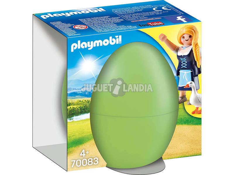 Playmobil Jeune Fille avec des Oies 70083