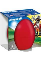 Playmobil Caballero con Cañón 70086
