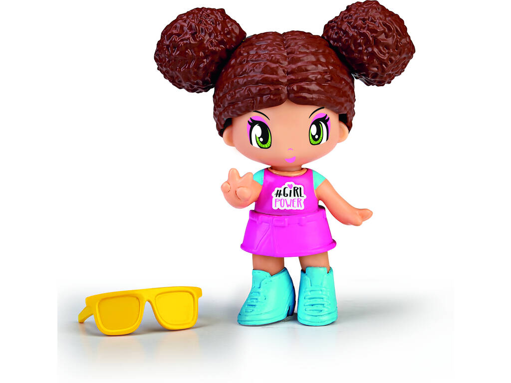 Pin et Pon New Look Cheveux Bruns Famosa 700015560