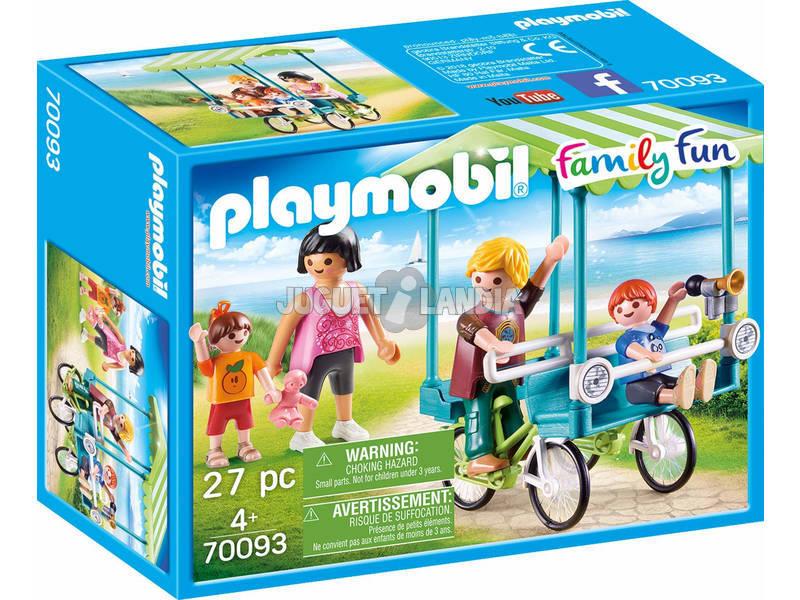 Playmobil Bicicleta Familiar70093