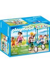 Playmobil Vélo Familial 70093