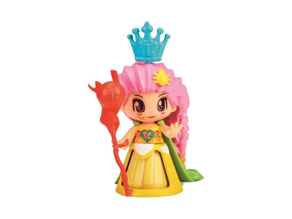 Pin y Pon Queen Figura Animal Vestido Amarillo