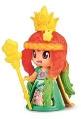 Pin y Pon Queen Figura Flor Vestido Verde