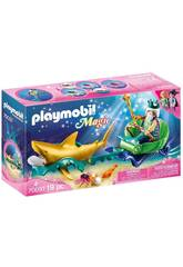 Playmobil Rey del Mar con Carruaje Tiburón Playmobil 70097