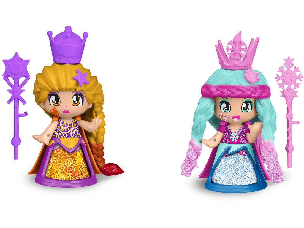 Pinypon Pack Queens 2 Figuras Famosa 700015653