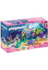 Playmobil Recolectores de Perlas con Manta Raya Playmobil 70099