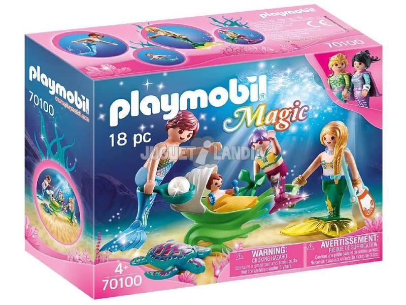 Playmobil Familia con Cochecito Playmobil 70100