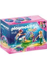 Playmobil Família com Carrinho Playmobil 70100