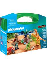 Playmobil Mallette Dinosaures et Explorateur Playmobil 70108