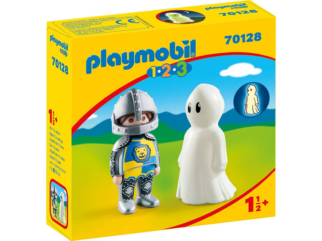 Playmobil 1,2,3 Caballero con Fantasma Playmobil 70128