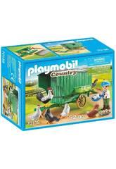 Playmobil Gallinero Playmobil 70138