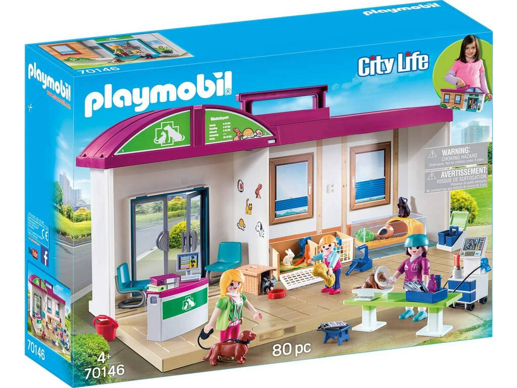 Playmobil Clinique Vétérinaire Mallette 70146