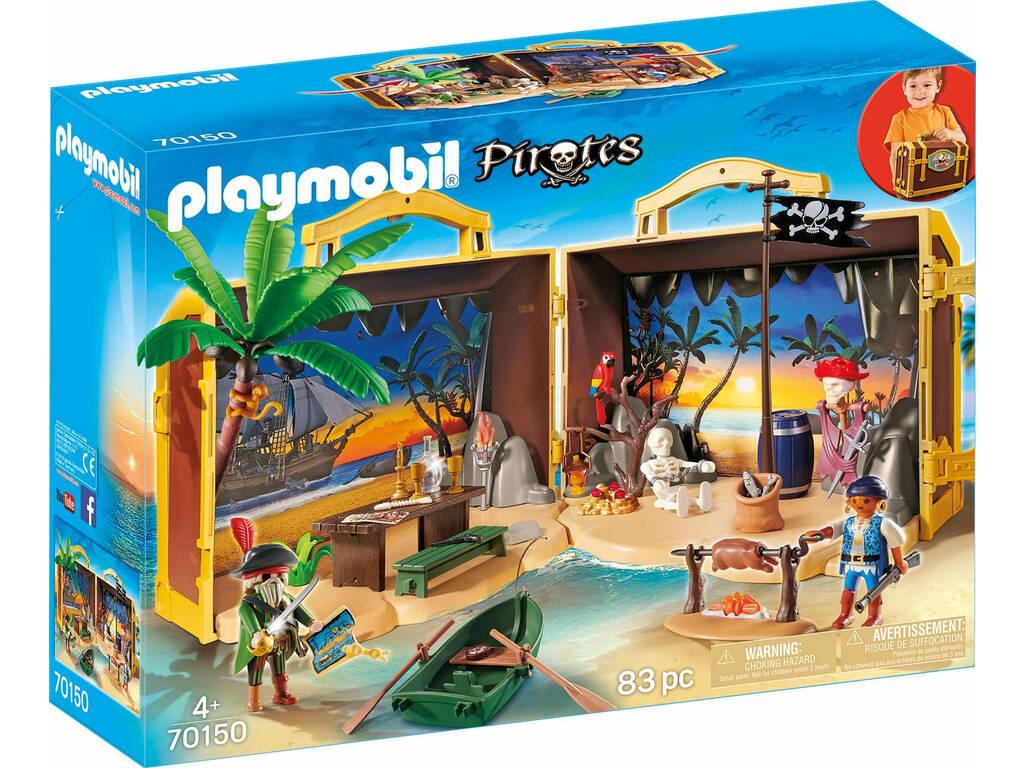 Playmobil Isla Pirata Maletín 70150