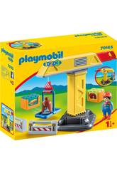 Playmobil 1,2,3 Grue Playmobil 70165