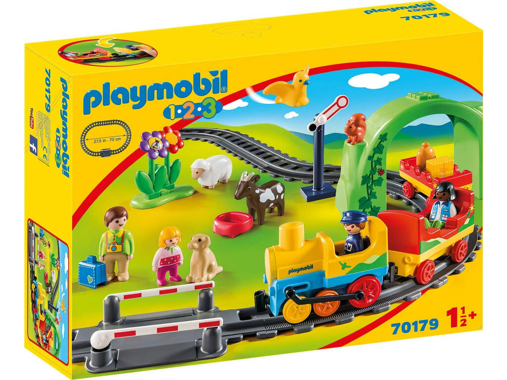 Playmobil 1,2,3 Mi Primer Tren Playmobil 70179
