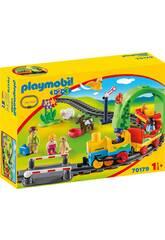 Playmobil 1,2,3 Il Mio Primo Treno Playmobil 70179
