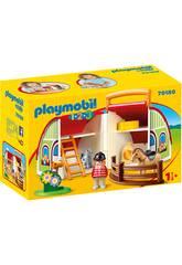 Playmobil 1,2,3 Mein Erste Farm Aktentasche von Playmobil 70180