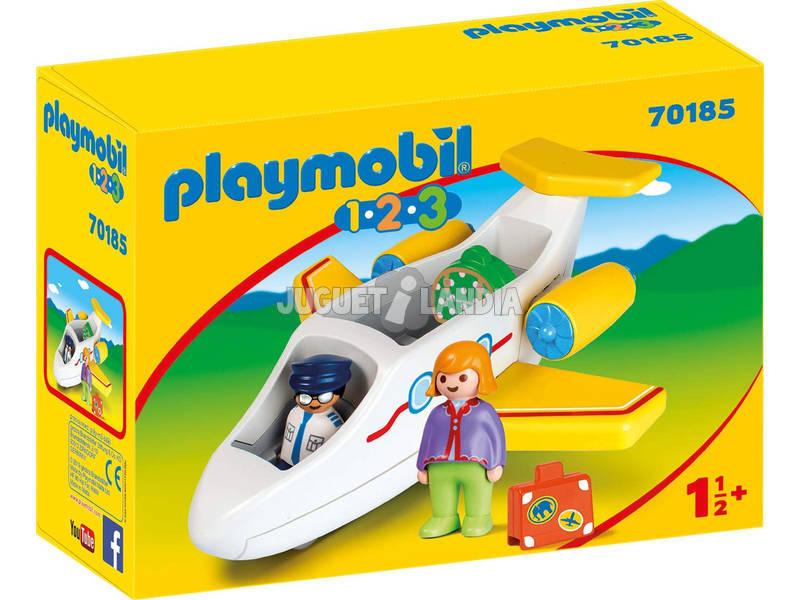 Playmobil 1,2,3 Avion avec Passager Playmobil 70185
