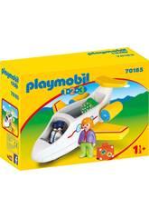 Playmobil 1,2,3 Avião com Passageiro Playmobil 70185