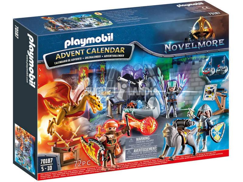 Playmobil Calendario de Adviento Batalla por la Piedra Mágica 70187
