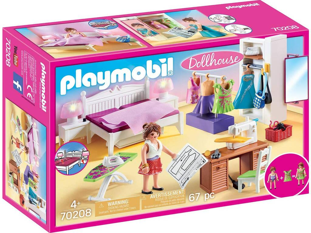 Playmobil Dormitorio 70208