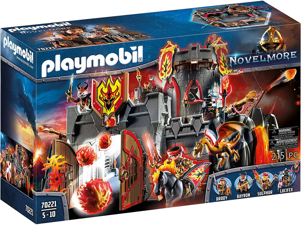 Playmobil Fortaresse des Bandits de Burnham Playmobil 70221