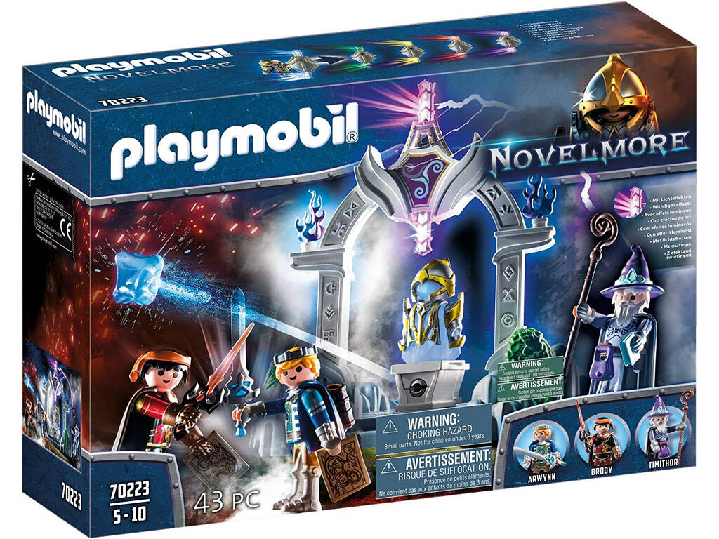 Playmobil Novelmore Templo del Tiempo Playmobil 70223