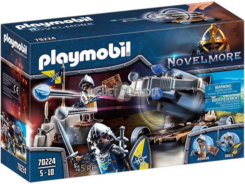 Playmobil Novelmore Arbalète d'Eau Playmobil 70224