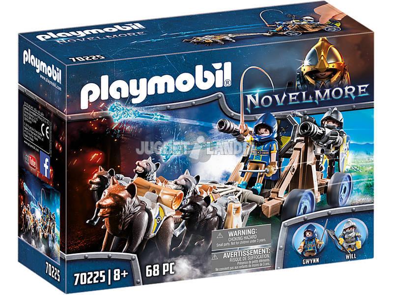 Playmobil Novelmore Équipe Loup Playmobil 70225