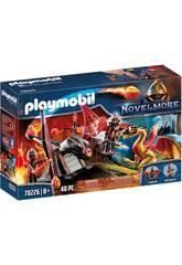 Playmobil Novelmore Treinamento do Dragão Equipa Burnham Playmobil 70226