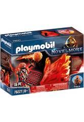 Playmobil Novelmore Espirito do Fogo Bandidos Burnham Playmobil 70227