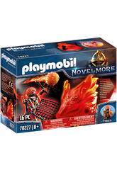 Playmobil Novelmore Espiritu del Fuego Bandidos Burnham Playmobil 70227