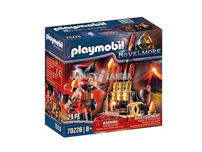Playmobil Novelmore Maître du Feu Bandits Burnham Playmobil 70228