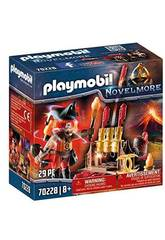 Playmobil Novelmore Feuermaster Bandits Burnham Playmobil 70228
