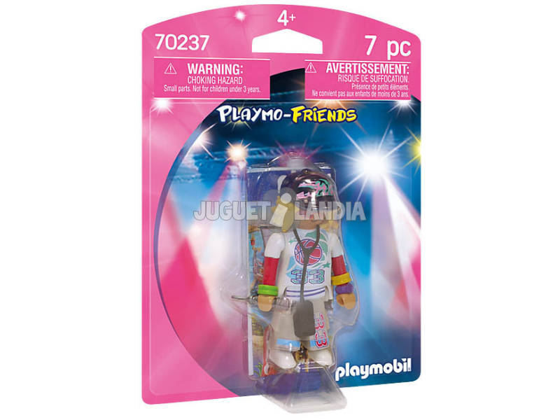 Playmobil Rappeuse Playmobil 70237