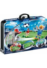 Playmobil Valigetta Campo da Calcio 70244