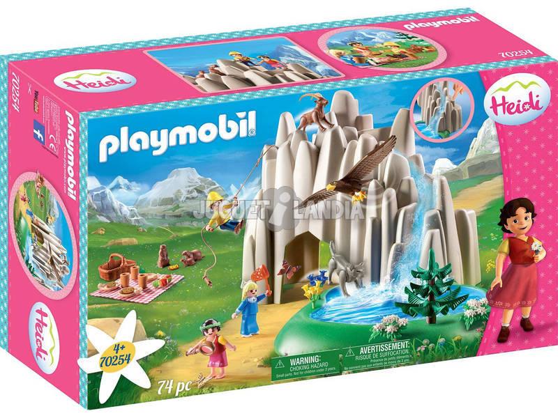Playmobil Heidi en el Lago con Pedro y Clara Playmobil 70254