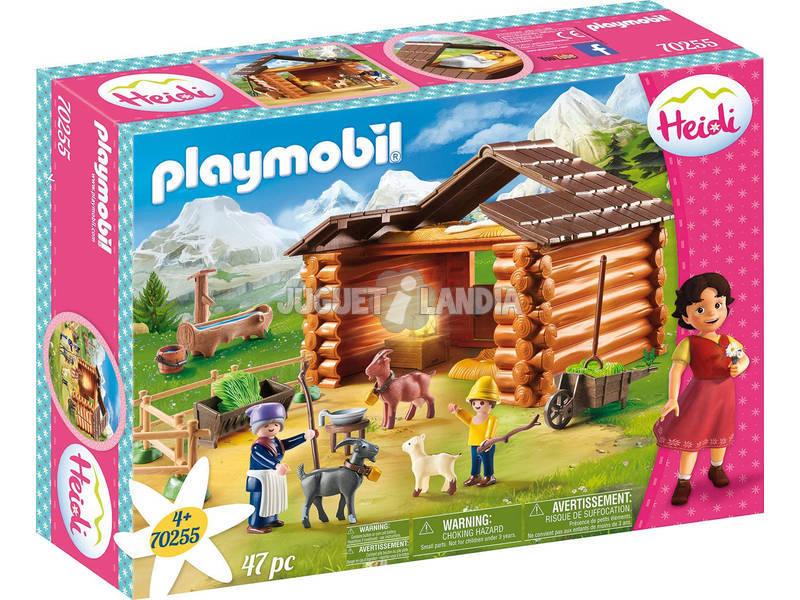 Playmobil Heidi Grange à Chèvres de Pedro Playmobil 70255