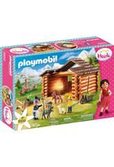 Playmobil Heidi Establo de Cabras de Pedro Playmobil 70255